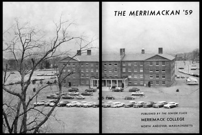 1959 Merrimackan Yearbook
